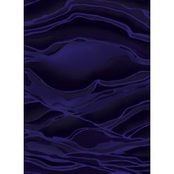 3582-001 Aruba - Wave - Dark Blue Fabric