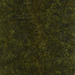 1763-004 Best Of Malam Batiks - Tropical - Green Fabric