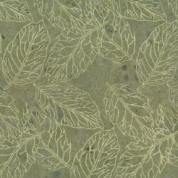 2145-002 Best Of Malam Batiks - Pressed Leaf - Taupe Fabric