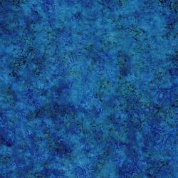 2546-002 Best Of Malam Batiks - Faberge Small - Blue/Teal Fabric