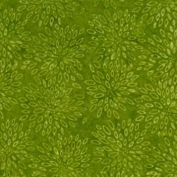 2548-003 Best Of Malam Batiks - Lotus - Dark Lime Fabric