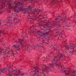 2548-011 Best Of Malam Batiks - Lotus - Pink Fuchsia Fabric