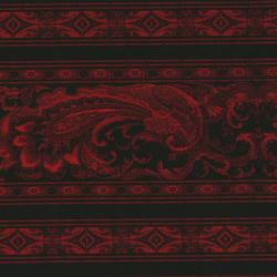 1841-021 Border Basics - Red Fabric