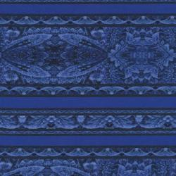 2101-003 Border Basics - Border - Dark Blue Fabric