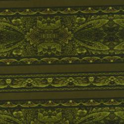 2101-007 Border Basics - Border - Green Fabric