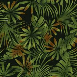 3013-001 Burano - Palm Leaf - Khaki Fabric