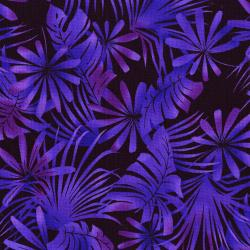 3013-004 Burano - Palm Leaf - Magenta Fabric