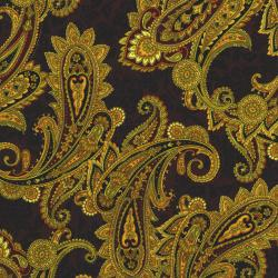 2794-002 Casablanca - Paisley - Brown Fabric