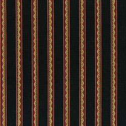 3287-004 Casablanca Mini Borders - Stripe - Red Fabric