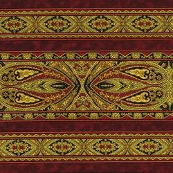 2795-004 Casablanca - Border - Sienna Fabric