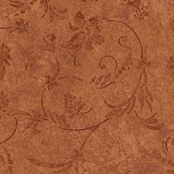 JB402-RU2 Impressions - Vines - Rust Fabric