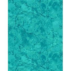 3365-008 Jinny Beyer Palette - Granite - Aquamarine Fabric