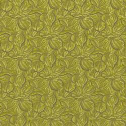5868-016 Jinny Beyer Palette - Masque Feathers - Chartreuse Fabric - OP77
