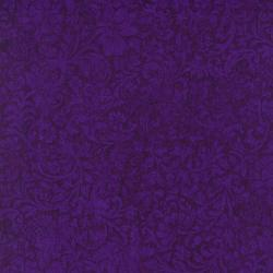 8868-005 Jinny Beyer Palette - Floral Vine - Purple Fabric