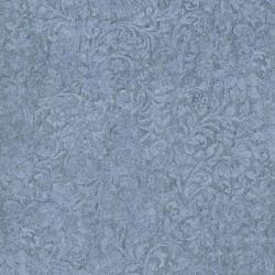 8868-007 Jinny Beyer Palette - Floral Vine - Powder Blue Fabric