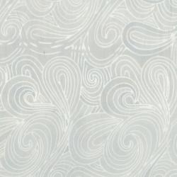 3627-005 Malam Batiks VI Lights & Brights - Swirl - Pale Gray Fabric
