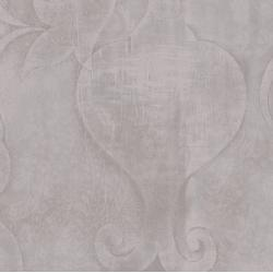 3417-003 Midnight Garden - Embossed - Gray Fabric