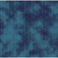 3418-001 Midnight Garden - Weave - Aquamarine Fabric
