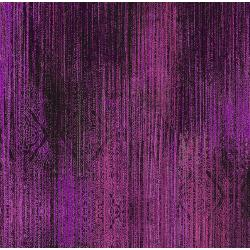 3419-003 Midnight Garden - Linear - Magenta Fabric