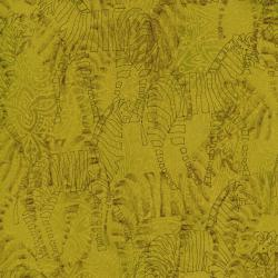 2663-002 Safari - Zebra - Deep Lime Fabric