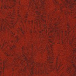2663-005 Safari - Zebra - Barn Red Fabric