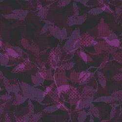 2665-002 Safari - Maze - Black/Purple Fabric