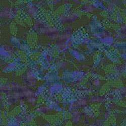 2665-003 Safari - Maze - Black/Blue Fabric