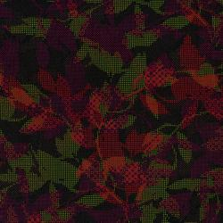 2665-004 Safari - Maze - Black/Red Fabric