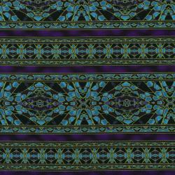 2666-003 Safari - Blue Fabric