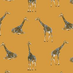 JD101-GV3 Magic of Serengeti - Giraffe - Golden Vista Fabric
