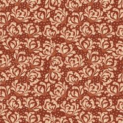 JD103-SI2 Magic of Serengeti - Blooming Flowers - Sienna Fabric