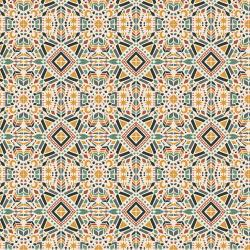 JD104-FD3 Magic of Serengeti - Southern Geometry - Fresh Dew Fabric