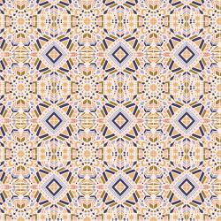 JD104-SU1 Magic of Serengeti - Southern Geometry - Sunset Fabric