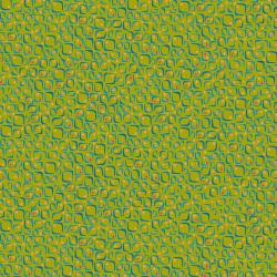 KK104-MO2 Floret Geometric - Conflorations - Moss Fabric