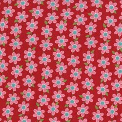 2629-003 Bugsy - Daisy Chain - Poppy Fabric