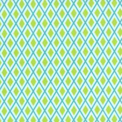 2632-002 Bugsy - Diamond - Teal Fabric