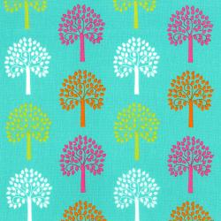 2816-002 Fairy Tales - Trees - Teal Fabric