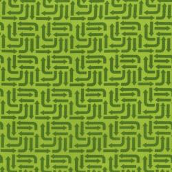 3406-002 Traffic Jam - Arrows - Green Fabric