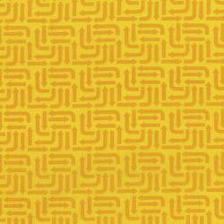 3406-004 Traffic Jam - Arrows - Yellow Fabric