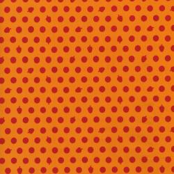 2211-011 Woodland Park - Dots & Acorns - Red/Orange Fabric
