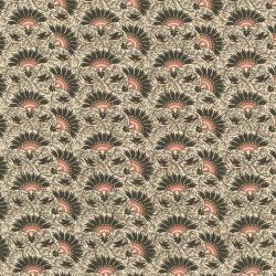 2715-001 Chocolate & Bubble Gum - Maple Sugar - Brown Fabric