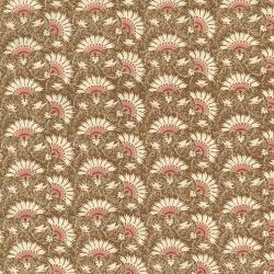 2715-002 Chocolate & Bubble Gum - Maple Sugar - Pink Fabric