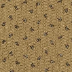 2719-001 Chocolate & Bubble Gum - Molasses - Brown Fabric