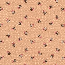2719-002 Chocolate & Bubble Gum - Molasses - Pink Fabric