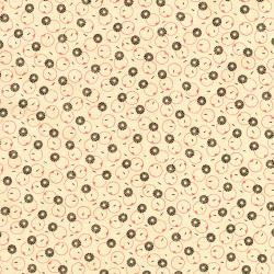 2721-002 Chocolate & Bubble Gum - Rock Candy - Brown Fabric