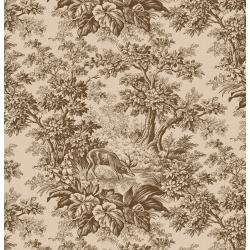 3428-003 Fall's Majesty - Woodland - Cattails Fabric