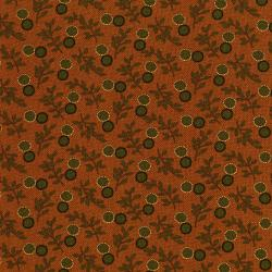 3430-002 Fall's Majesty - Cornucopia - Pumpkin Fabric