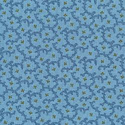 3434-001 Fall's Majesty - Wistful - Bluebird Fabric