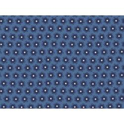 3550-002 Family Roots - Mia - Dusty Blue Fabric