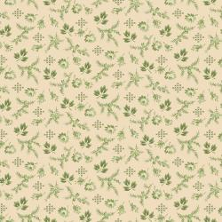 3551-003 Family Roots - Harper - Vanilla Green Fabric